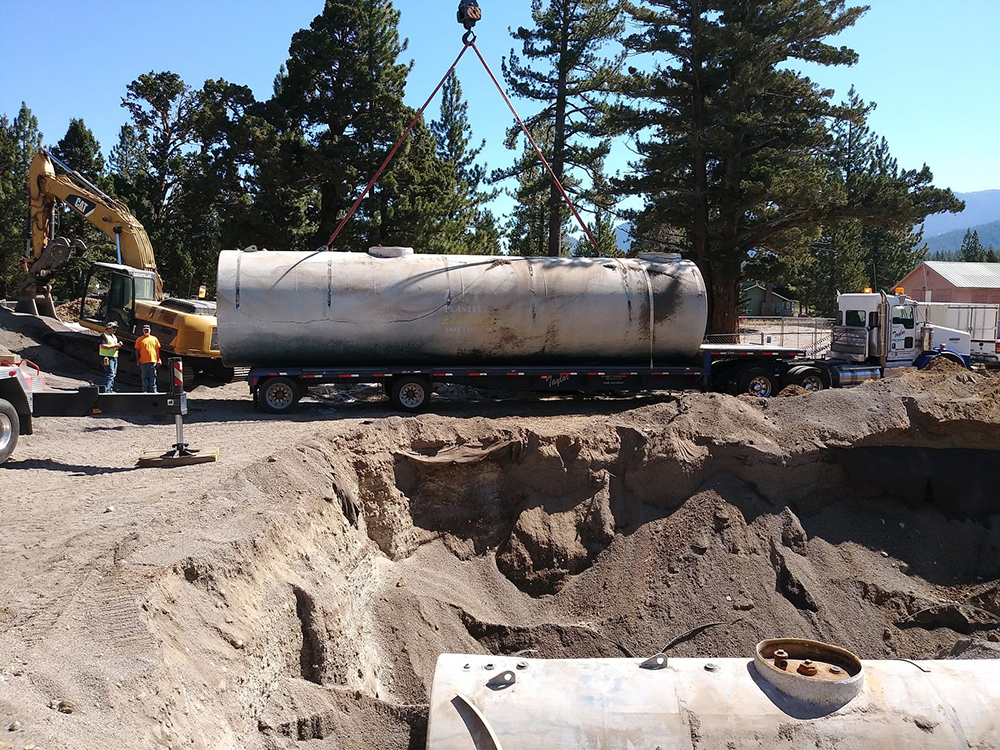 Commercial Excavation - Tank Removal